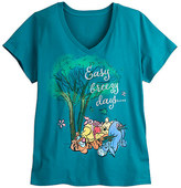 Disney Winnie the Pooh and Pals V-Neck Tee for Women - Plus Size