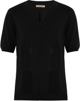 Bottega Veneta V-neck cotton-blend sweater