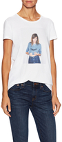 AG Adriano Goldschmied Selfie Cotton Tee