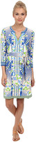 Hale Bob Psychedelic City Faux Wrap Dress