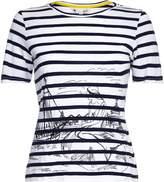 Yumi Scandi Sketch Stripe T-Shirt