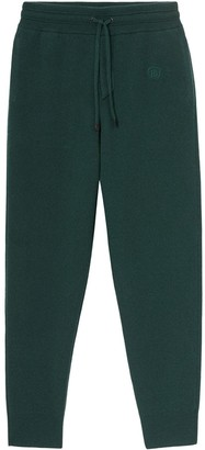 Burberry Embroidered Logo Track Pants