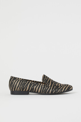 H&M Jacquard-patterned loafers