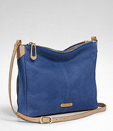 T Tahari Pleated Double Zip Cross-Body Bag