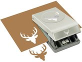 Dimensions EK Success Deer Head Punch Large