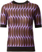Marni intarsia knit sweater - women - Polyamide/Polyester/Acetate - 44