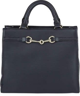 Neiman Marcus Cole Bit Satchel Bag