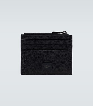 Dolce & Gabbana Zipped leather cardholder