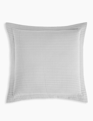 Marks and Spencer Cotton Mix Ribbed Quilted Cushion