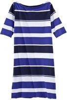 Petit Bateau Women's boat-neck dress with bayadere stripes
