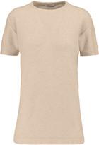 Brunello Cucinelli Embellished cashmere-blend top