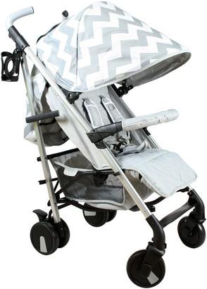 My Babiie Billie Faiers MB51 Grey Chevron Stroller