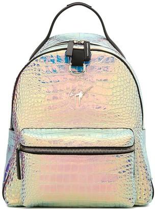 Giuseppe Zanotti Buddy embossed backpack