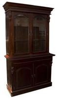 Two Door Victorian Bookcase Finish: Mahogany Victoriana