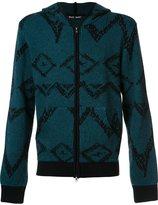 Baja East front pockets hoodie - men - Cashmere - 0