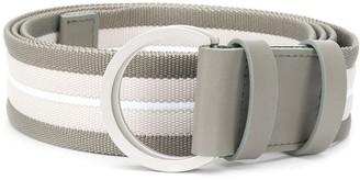 Lorena Antoniazzi Striped Ring-Buckle Belt