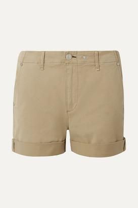 Rag & Bone Buckley Cotton-blend Twill Shorts - Sand
