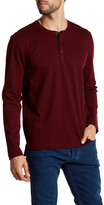 Kenneth Cole New York Long Sleeve Honeycomb Henley Shirt