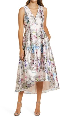 Brinker & Eliza Sleeveless High/Low Dress