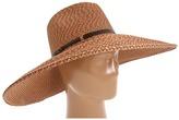San Diego Hat Company PBF4212 Straw Large Brim Fedora Sun Hat (Bright Mix) - Hats