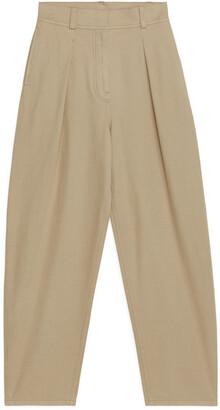 Arket Balloon Shape Twill Trousers