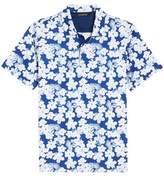 Bugatchi Classic Fit Floral Blueprint Polo