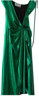 ATTICO Metallic Polyester Dresses