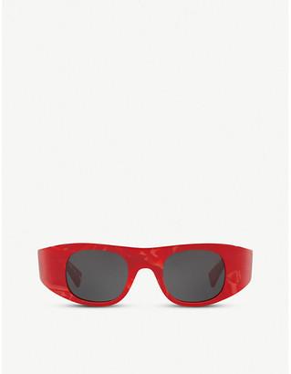 Alain Mikli x Alexandre Vaulthier Ansolet square-framed acetate sunglasses