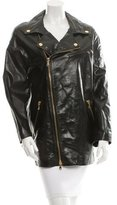 RED Valentino Leather Moto Jacket w/ Tags