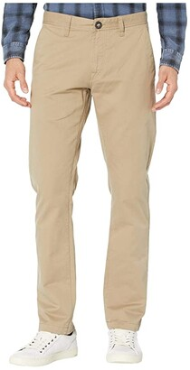 Volcom Frickin Slim Chino (Khaki) Men's Casual Pants