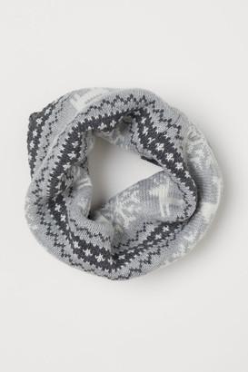 H&M Jacquard-knit tube scarf