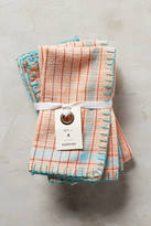 Anthropologie Madras Napkin Set