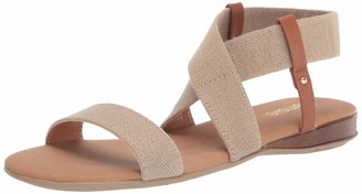 Kensie Women's Elastic Band Flat Sandal