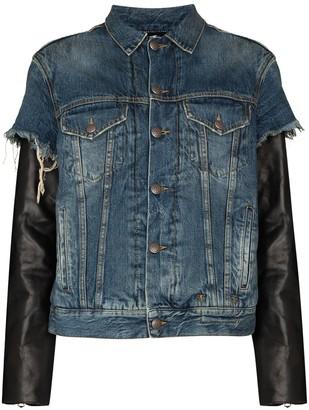 R 13 Sky denim jacket