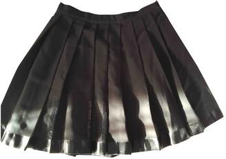 Christian Dior Black Polyester Skirts