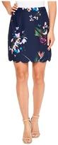 Ted Baker Staycee Tropical Oasis A-Line Mini Skirt Women's Skirt