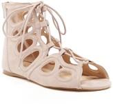 Sole Society Makena Lace-up Flat Sandal