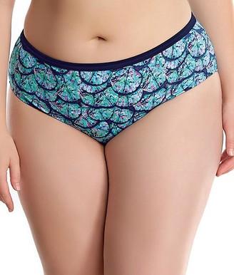 Elomi Plus Size Abalone Bikini Bottom
