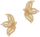 Mallarino Oriana Orchid Stud Earrings
