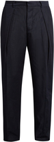 TOMORROWLAND Memory wide-leg twill trousers