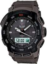 Casio Men's Core PRG550B-5 Green Nylon Quartz Watch with Dial