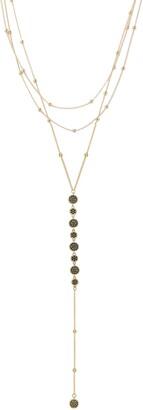 Ettika Triple Layer Y-Necklace