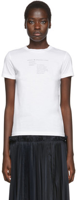 Enfold White Definition T-Shirt