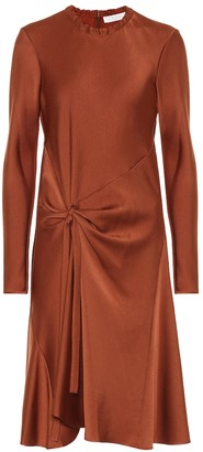 Chloé Satin crepe dress