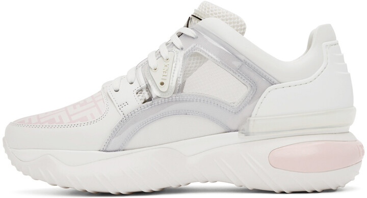 Thumbnail for your product : Fendi Pink 'Forever Fendi' Fancy Sneakers