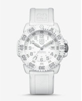 Express luminox white colormark watch