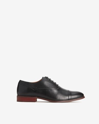Express Polished Leather Oxford Dress Shoe
