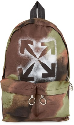 Off-White Camouflage-print Ripstop Backpack