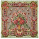 Gucci Flower vase print modal silk shawl