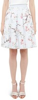 Ted Baker Tillye Floral Burnout Skirt